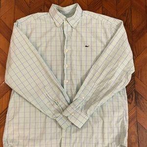 Vineyard Vines M Whale shirt Button Down